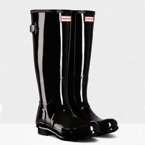 Women's Original Tall Back Adjustable Gloss Boots